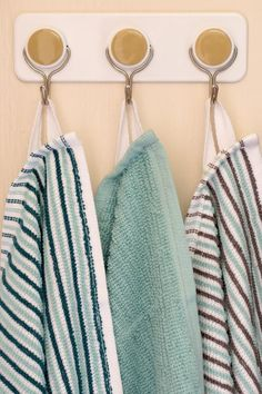 How To Add Loops to Dishtowels for Hanging