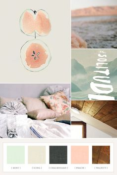 Nursery color palette: Desert Rose | 100 Layer Cakelet