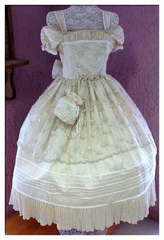 catalogo de vestidos de primera comunion elegantes - Buscar con Google
