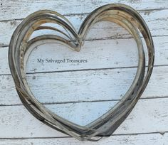 wine barrel ring hearts ~~  My Salvaged Treasures: Flea Market Treasures