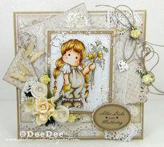 DeeDee´s Card Art: ♥ Copic Marker Deutschland Blog DT ♥