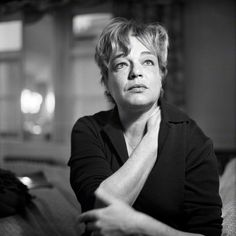Simone Signoret, March 25, 1921 – September 30, 1985. Photo by Jane Bown.