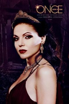 Awesome young Evil Queen Regina on an awesome Once poster Once S2