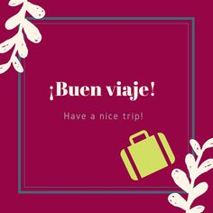 Enjoy your trip but please come back! We'll be missing you! Spanish Phrases, Spanish Words, Spanish English, English Phrases, English Words, Learn English, Learn French, Teach Me Spanish, Spanish Lessons For Kids