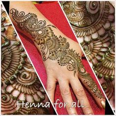 Cool Henna Designs, Beautiful Henna Designs, Bridal Mehndi Designs, Bridal Henna, Mehandi Designs, Mehndi Art, Henna Mehndi, Arabic Mehndi, Mehendi
