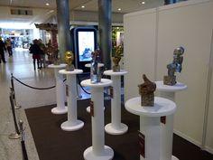 Durante la séptima edición del Salón del Chocolate de Madrid en Moda Shopping (2009), pudimos asistir a una exposición de escultutas de chocolate en homaneja al mundo del cine. Realizada por la Pastelería Nunos. ©chocoadictos