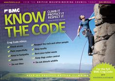 Follow the BMC Crag Code