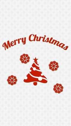 Simple Merry Christmas Message iPhone 5s wallpaper