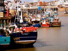 Bridlington Harbour, West Yorkshire Yorkshire Day, Yorkshire England, North Yorkshire, British Holidays, Holiday Destinations, East Coast, Wales, United Kingdom, Scotland