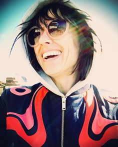 Constance Zimmer wearing PERVERSE Sunglasses