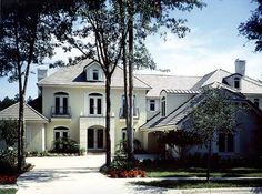 63252HD. Exquisite French Country Home Plan