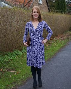 Look of the day: DVF Dress. See all the details here: http://www.kathrinerostrup.dk/2013/05/dagens-outfit-dvf-dress/