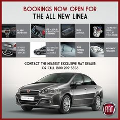 Fiat Linea facelift launch on 4th of March ! Nissan Sunny, Fiat Cars, Music System, Cruise Control, Engineering, March, Fiestas, Technology, Mac