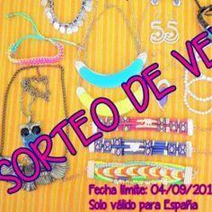 Caja de complementos de verano ^_^ http://www.pintalabios.info/es/sorteos-de-moda/view/es/4929 #ESP #Sorteo #Joyas