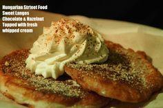 Hungarian Street Food - Sweet Langos