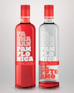 Pacharán Pamplonica – Package Design by Contrabriefing