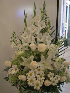 It's beautiful flowers arrangement.
