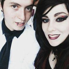 goth couple https://i.instagram.com/abigailvondoll/