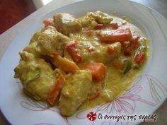 Κοτόπουλο με μουστάρδα και τυρί κρέμα #sintagespareas #kotopoulo #moustarda #tyrikrema