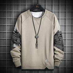 Hoodie Sweatshirts, Printed Sweatshirts, Crew Neck Sweatshirt, Sweat Shirt, Japanese Streetwear, Mein Style, Pulls, Streetwear Fashion, Hip Hop