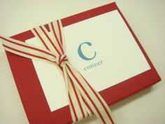 Personalized Stationery Gift Set with your by inkpartyemporium