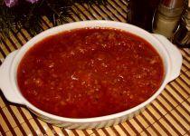 Boloňská omáčka a špagety Bolognese, Chili, Salsa, Spaghetti, Soup, Menu, Ethnic Recipes, Fitness, Bulgur