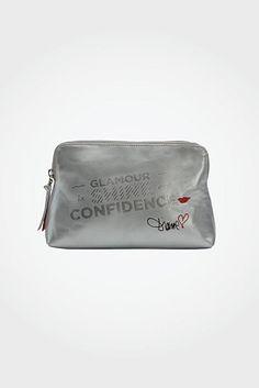 Confidence makeup bag via @DVF