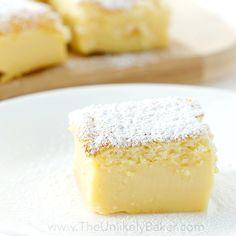 Magic Custard Cake Recipe  //  One batter, one pan, 3 delicious layers!