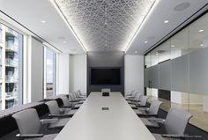 Office Ceiling Design, Office Interior Design, Office Interiors, Commercial Design, Commercial Interiors, Inmobiliaria Ideas, Luxury Office, Decoration, Innovation