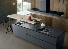 La cocina y los colores neutros