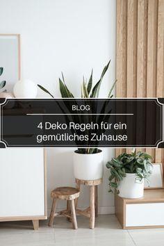 Die eigenen vier Wände sind ein ganz besonderer Ort zum Wohlfühlen und Entspannen. Hier möchtest du zur Ruhe kommen, und einfach mal nur Du selbst sein. Außerdem kannst du dein kleines Reich ganz nach deinen eigenen Vorstellungen gestalten. Neue Saison, neue Deko Trends! Möchtest du deine Wohnung für den Herbst gemütlich machen? Dann haben wir für dich heute 4 wichtige Deko Regeln für ein gemütliches Zuhause. Blog, Lifestyle, Home Decor, Autumn, Ad Home, Simple, Decoration Home, Room Decor, Blogging