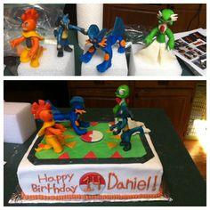 Pokemon Cake! A very fun one to make:)