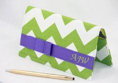 Handmade, Personalized Checkbook cover