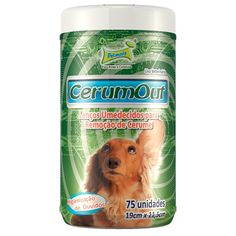Lenços Umedecidos CerumOut Pet Mais - MeuAmigoPet.com.br #petshop #cachorro #cão #meuamigopet