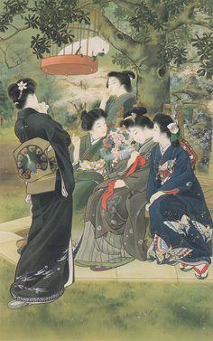 Kiyokata Kubaragi - Those Who Marry (1907)