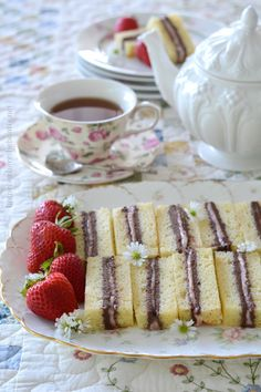 Pound Cake Tea Sandwiches are finger sandwiches of cake, filled with layers of chocolate buttercream and strawberry-cream cheese. Enjoy these…