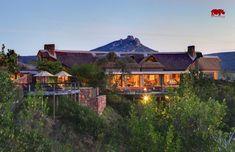 Luxus-Lodge im Botlierskop Private Game Reserve in Südafrika.