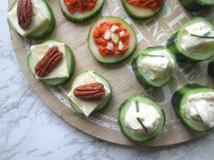 Savory Snacks, Healthy Snacks, Healthy Eating, Healthy Recipes, Cucumber Recipes, Tea Recipes, High Tea Food, Good Food, Yummy Food