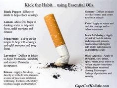 Stop Smoking Using Essential Oils #quitsmokingnaturally #stopsmokingessentialoils