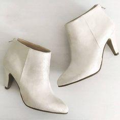 Botine din piele, botine de mirese, pantofica.ro