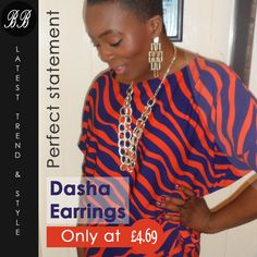 Select your earrings carefully, they may be the most important jewellery item to flatter your face.