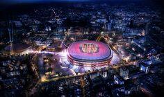 Les plans du nouveau Camp Nou dévoilés