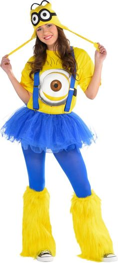 Adult Rave Minion Costume - Despicable Me - Party City