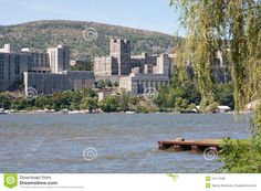 west point | West Point Military Academy from across the Hudson River.