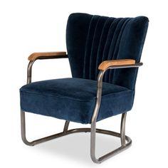 Laguana Arm Chair, Blue