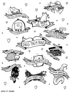 credited to nationofamanda: omfg i need ALL of these on my body right now