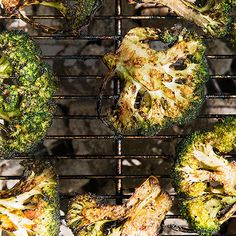 Grilled Soy-Ginger Broccoli Steaks