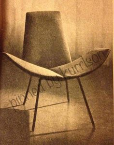 Clement Meadmore desgned chair 1959/60