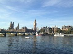 Houses of Parliament | Old Palace Yard #JMUstudyabroad