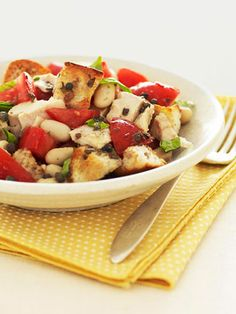 Get the recipe for Tuna Panzanella Salad